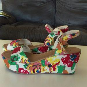 Shoes - Floral Sandals